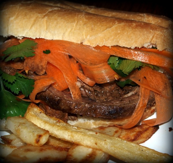crema sandwiches hickory smoked flank steak sandwiches coupe coupe ...