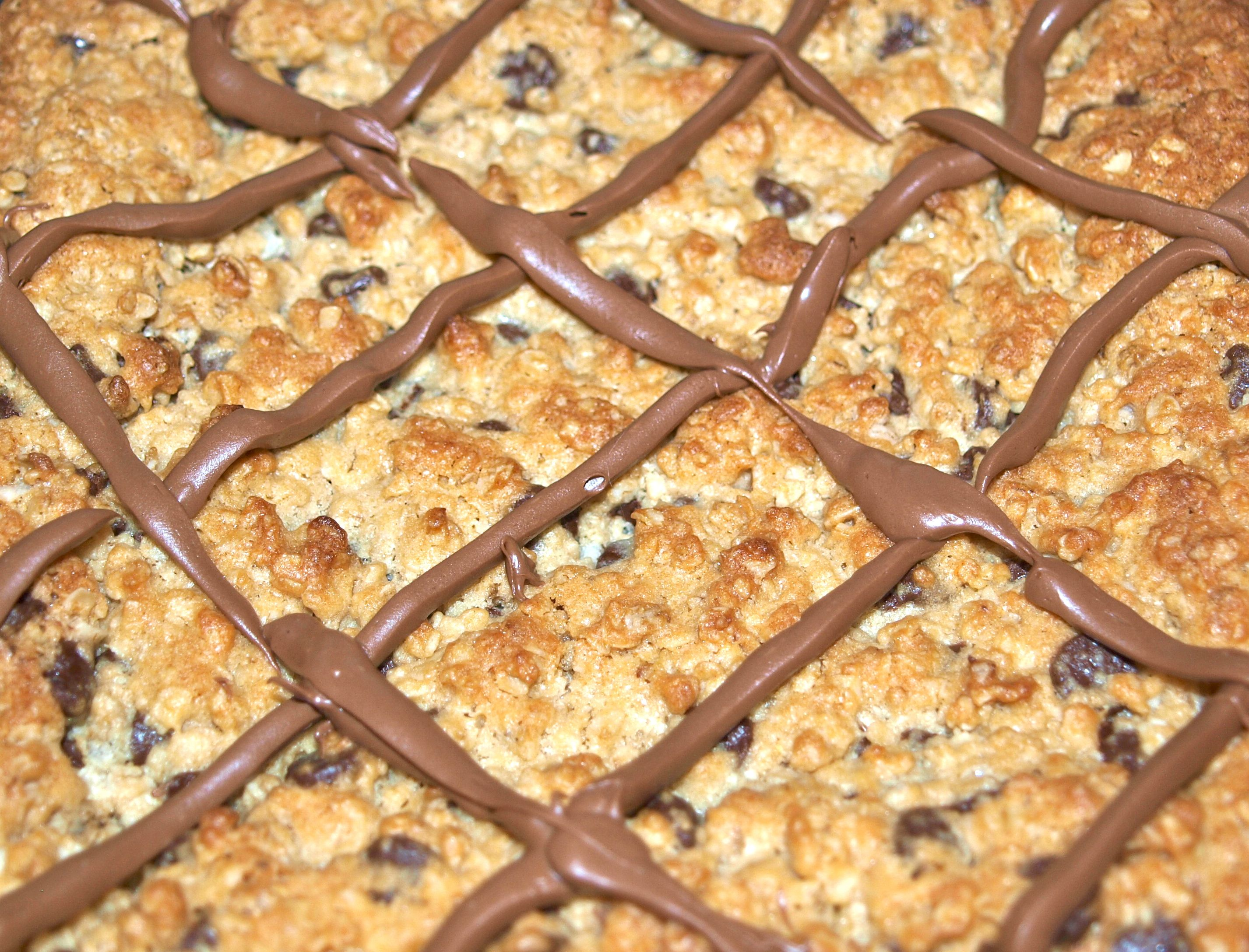 Chocolate Chip Oatmeal Bars - Life In Pleasantville