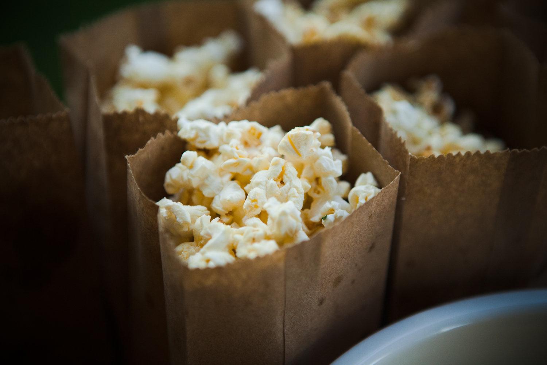 truffle popcorn appetizer