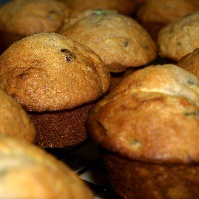 Zucchini Chocolate Chip Muffins