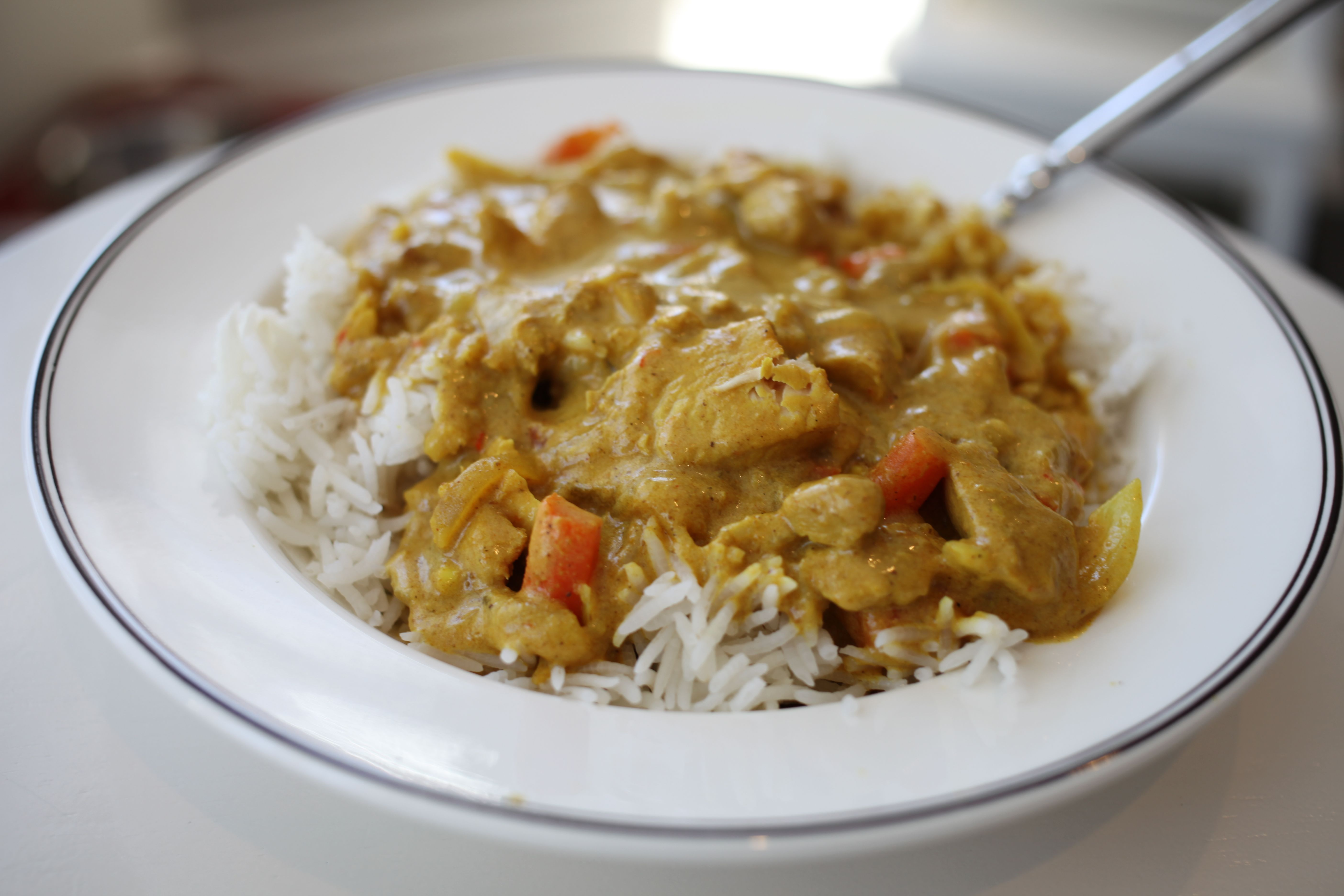 Pub-Style Chicken Curry - Life In Pleasantville