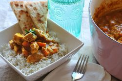 pub style chicken curry
