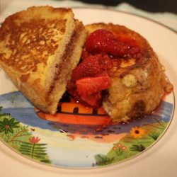 chocolate stuffed french toast 2