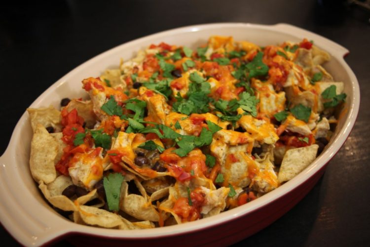 turkey nachos
