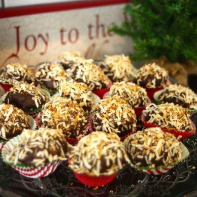 Chocolate Coconut Snowballs