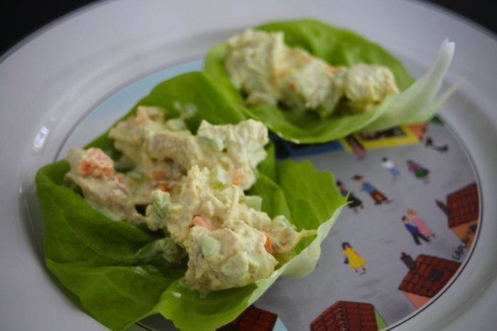 Curry Turkey Salad - Life In Pleasantville