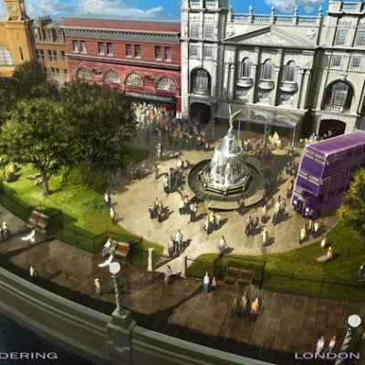 Excitement Builds for Diagon Alley at Universal Studios