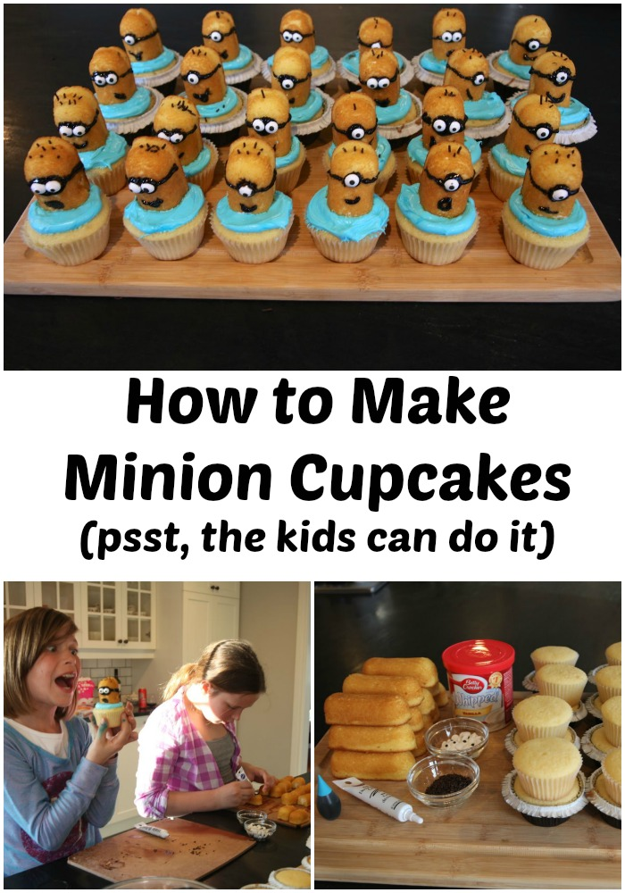 How To Make Minion Cupcakes Life In Pleasantville