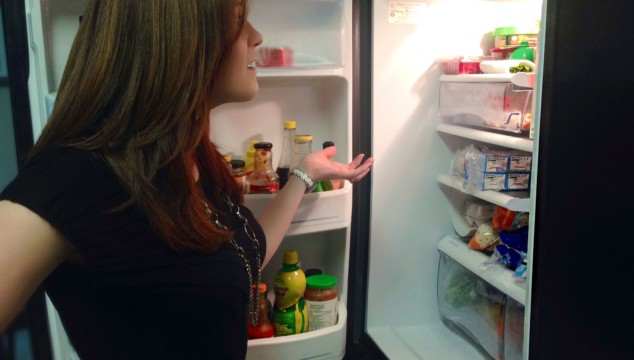 A fridge full of food and I still don't know what's for dinner!