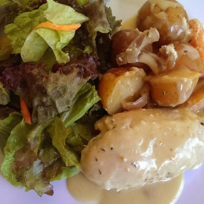 Creamy Crockpot Chicken