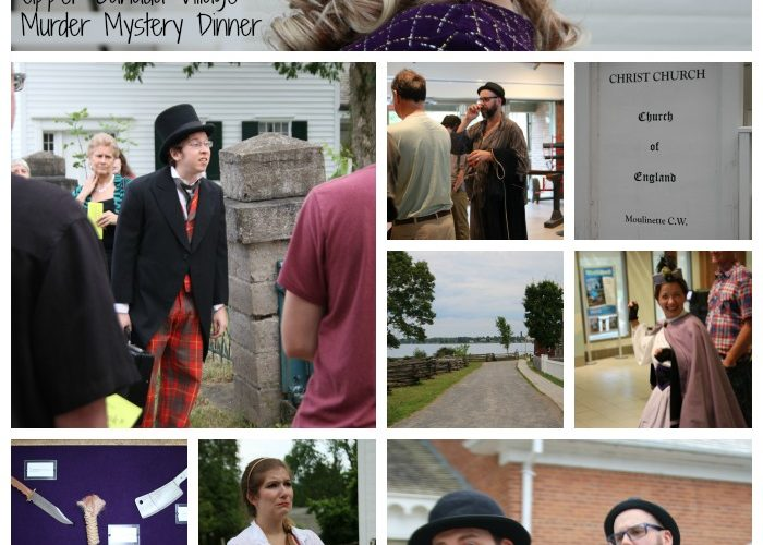 upper canada village murder mystery dinner