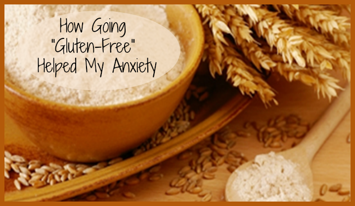 Gluten free diet helps control anxiety