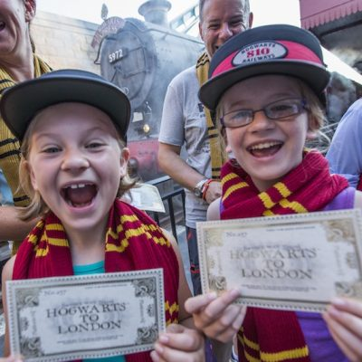 Hogswart Express Celebrates Millionth Visitor at Universal