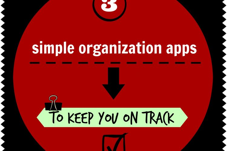 3 simple organization apps