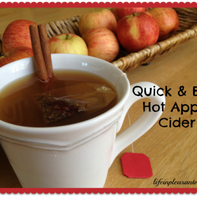 Quick and Easy Hot Apple Cider