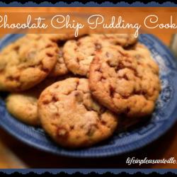 Cjocolate Chip Pudding Cookies