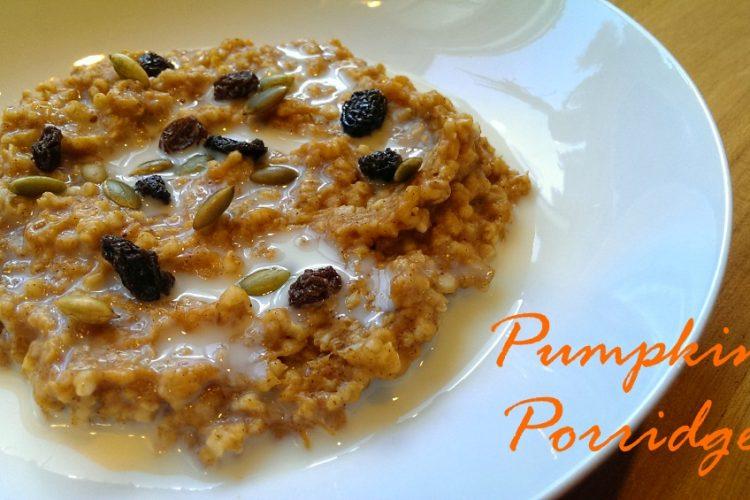 Pumpkin oatmeal