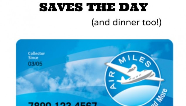 air miles saves the day