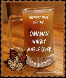 Canadian Whisky recipes