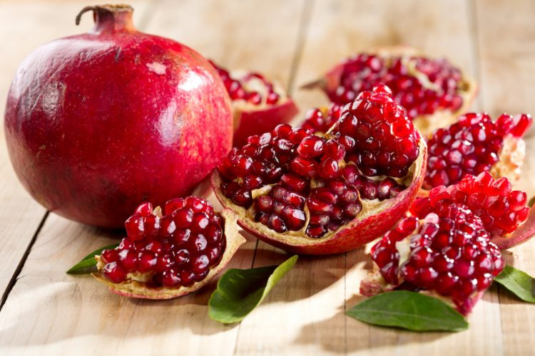 Pomegranate snacks