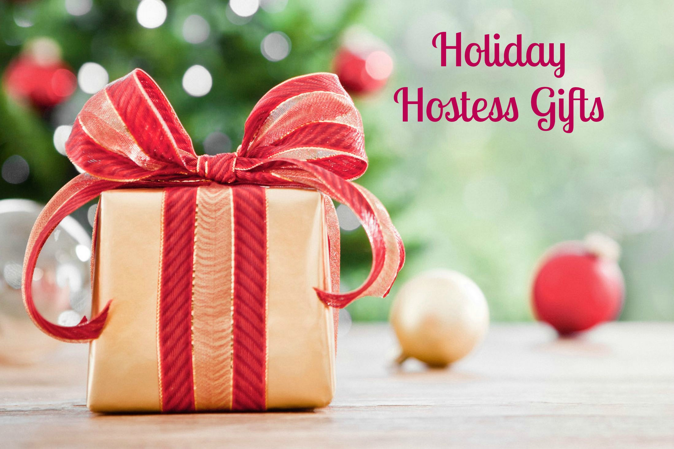 Five Best Holiday Hostess Gifts