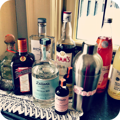 Let the CLINK CLINK games begin! How to Stock Your Bar for the Holidays