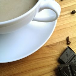 Chocolate Chai Latte Powder - made with cocoa powder, instant tea and seasonings - Just add to milk!