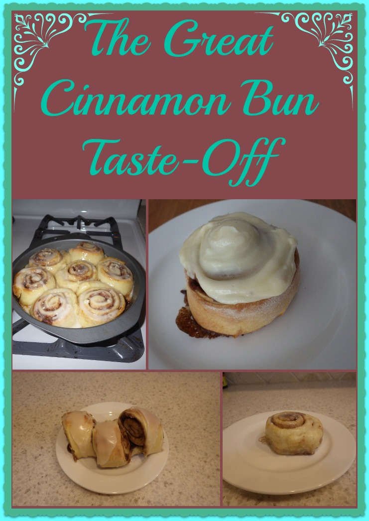 cinnamon bun taste, The Great Cinnamon Bun Taste-Off