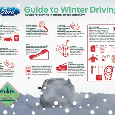 Safe Winter Driving Tips from Ford Canada