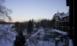 time is a luxury, Mont Tremblant, Hotel Quintessence