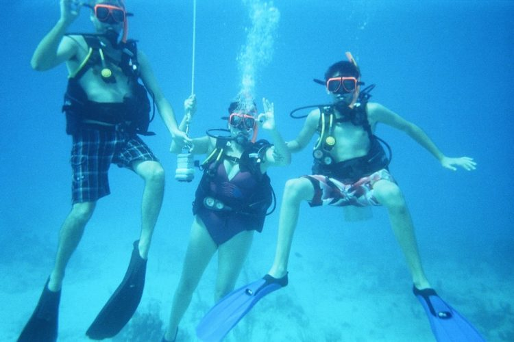 Scuba Diving Family Vacations, Beaches, Turks & Caicos, Padi, Learn to scuba, beginners