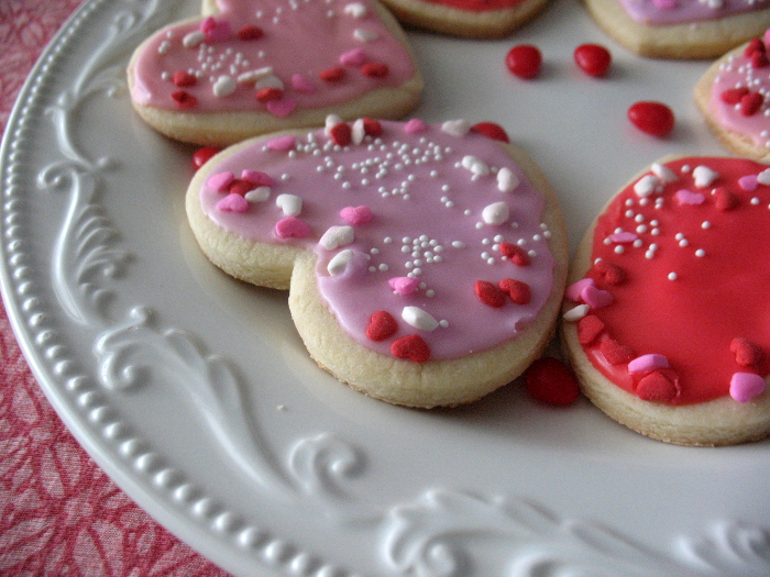 Class sugar cookie recipe, Valentine sugar cookies