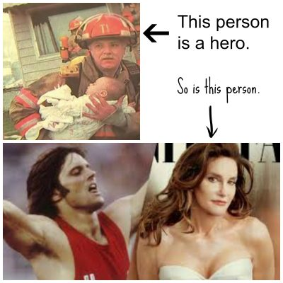 Is Caitlyn Jenner Really A Hero?