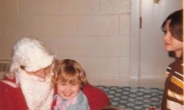 Me and Santa go way back. Circa 1972.