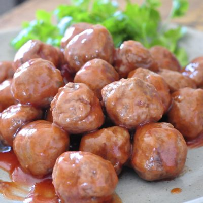 Holiday Recipe from Canadian Living: Sweet-And-Sour Meatballs