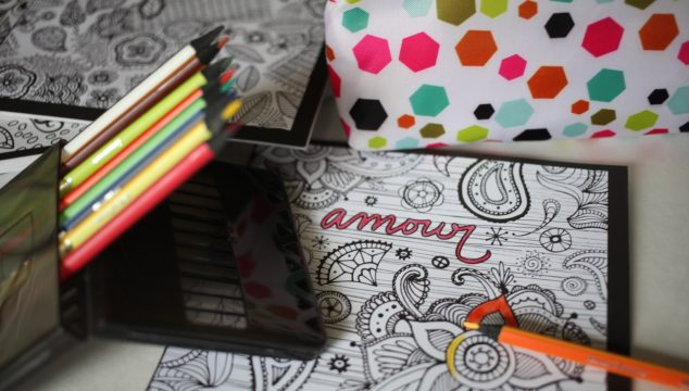 preparing teens for back to school, teens pick own school supplies, colouring exercise books