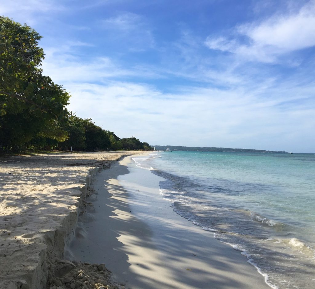 Couples Swept Away Negril, walk along Negril's 7 Mile Beach