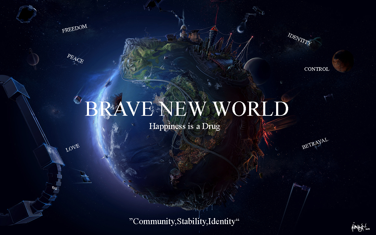 brave new world and pleasantville Steven spielberg's amblin entertainment is planning a television adaptation of aldous huxley's brave new world to air on syfy.