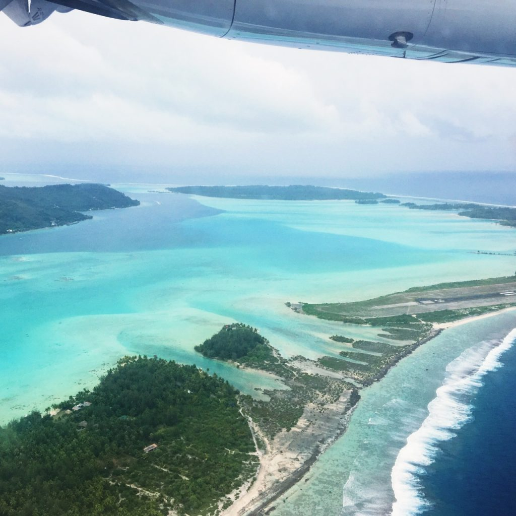 before you go to Tahiti, book a window seat