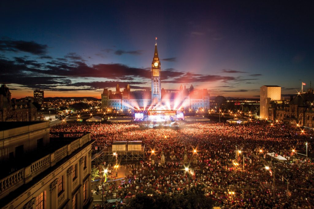 Free Events in Ottawa, Canada Day Celebrations Parliament Hill Ottawa