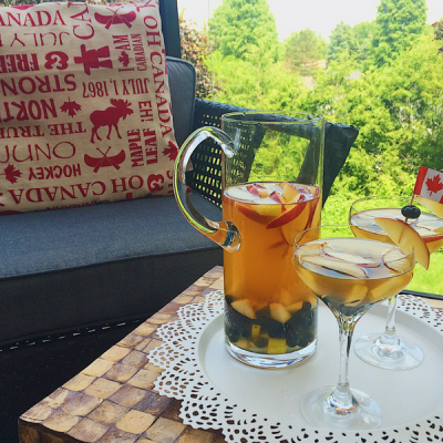 "O Canada Sangria – Putting the ""Happy"" in Canada Day"
