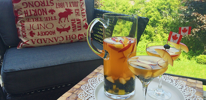 """O Canada Sangria – Putting the """"Happy"""" in Canada Day"""
