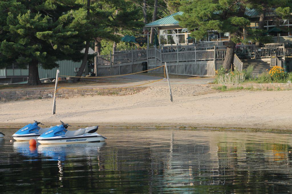 West Beach at Delawana Resort