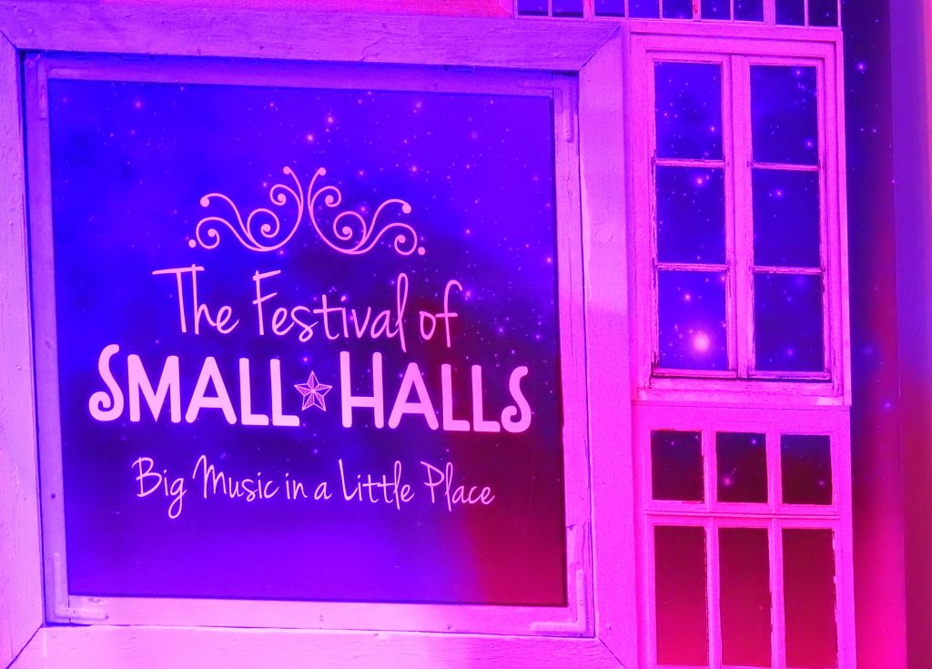 festival of small halls, The Festival of Small Halls