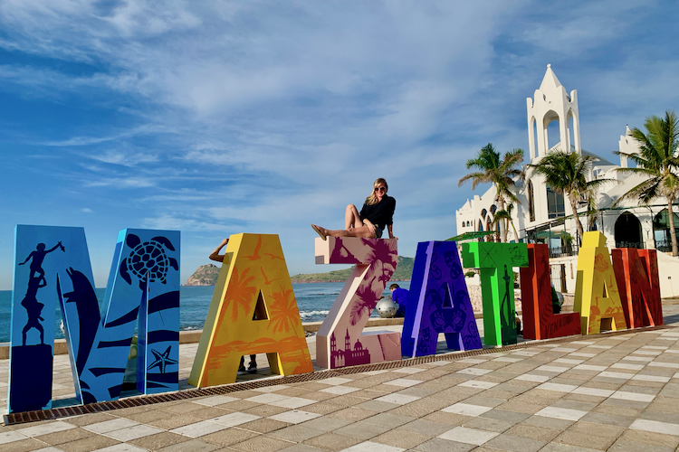 Mazatlan Sign on malecon